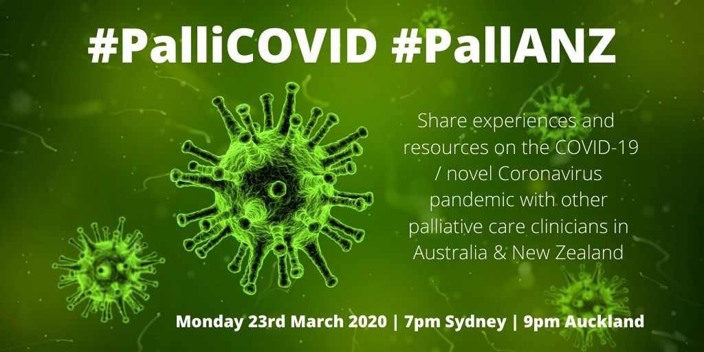 #PalliCOVID #PallANZ